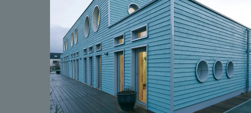 Glattkant Sonderfarbton blau | Habisreutinger