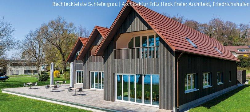 Holzfassade Schwarz durasidings neu habisreutinger